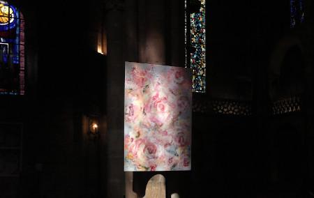 Roses et lys/ ATELIER/ Exposition/ ETE 2021