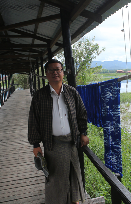I am at the Inle Lake.