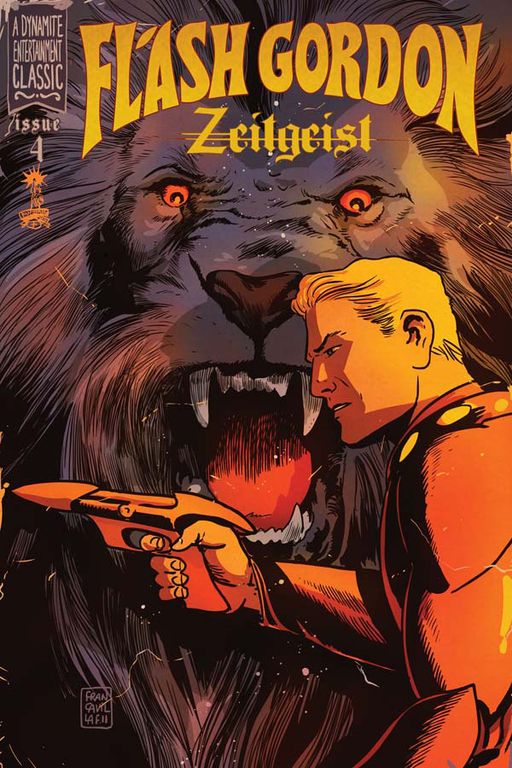 Flash Gordon: Zeitgeist #4 cover by Francesco Francavilla