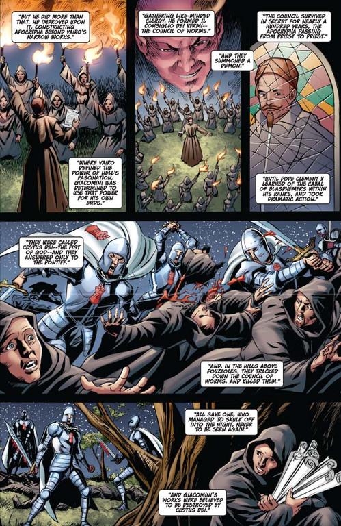 Vampirella #13 — Page 7 (Script: Trautmann / Art: Malaga)