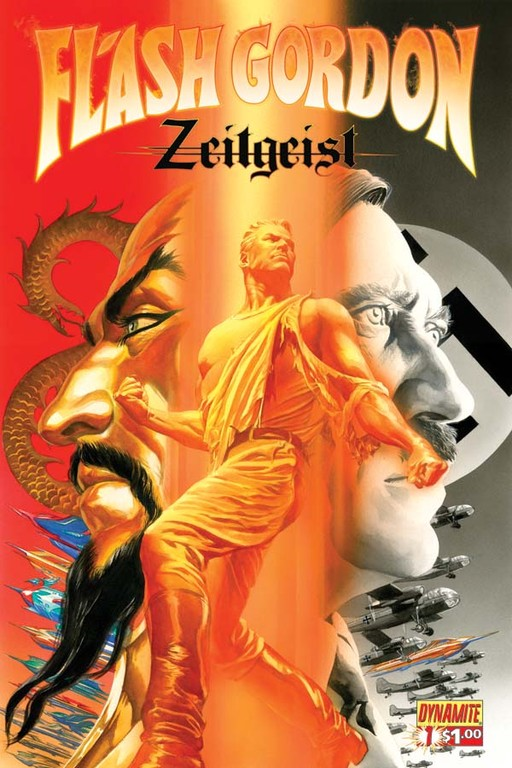Flash Gordon: Zeitgeist #1 cover by Alex Ross