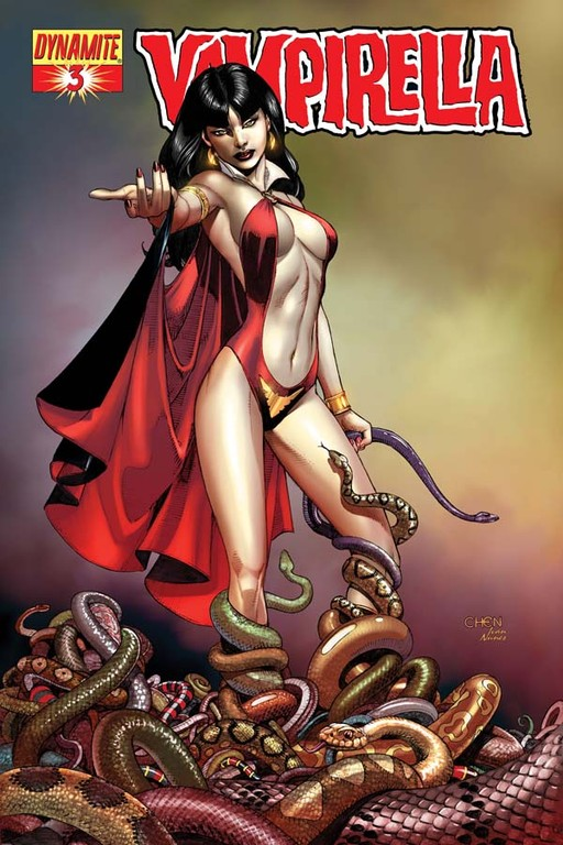 Vampirella #3 cover by Sean Chen