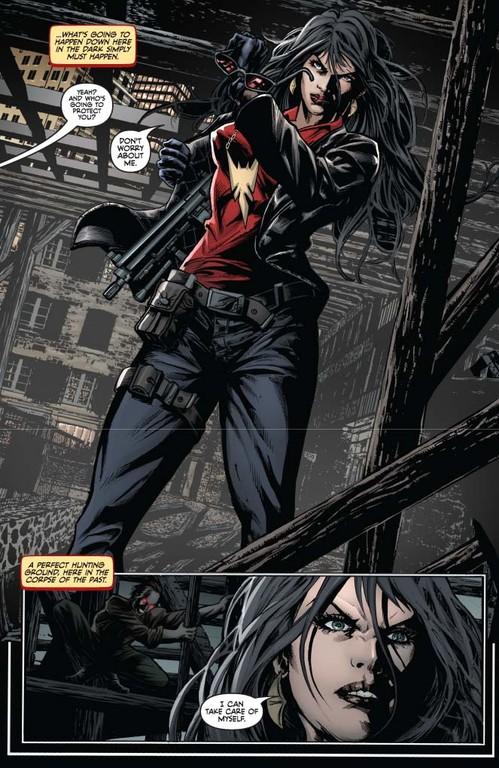 Vampirella #4, page 2 (Script: Trautmann / Art: Reis, Inlight Studios)