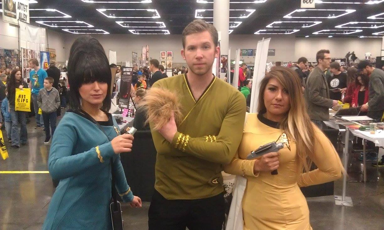 Terrific Star Trek original series cosplay