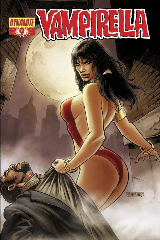 Vampirella #9 cover by Fabiano Neves