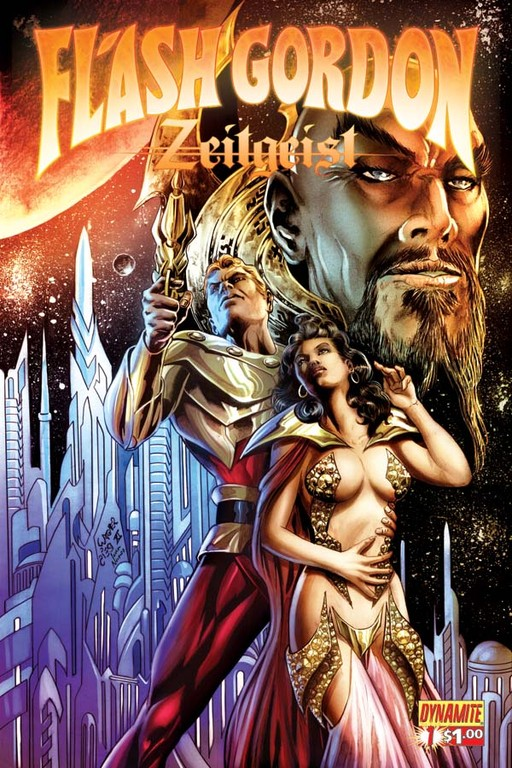 Flash Gordon: Zeitgeist #1 incentive cover by Wagner Reis.