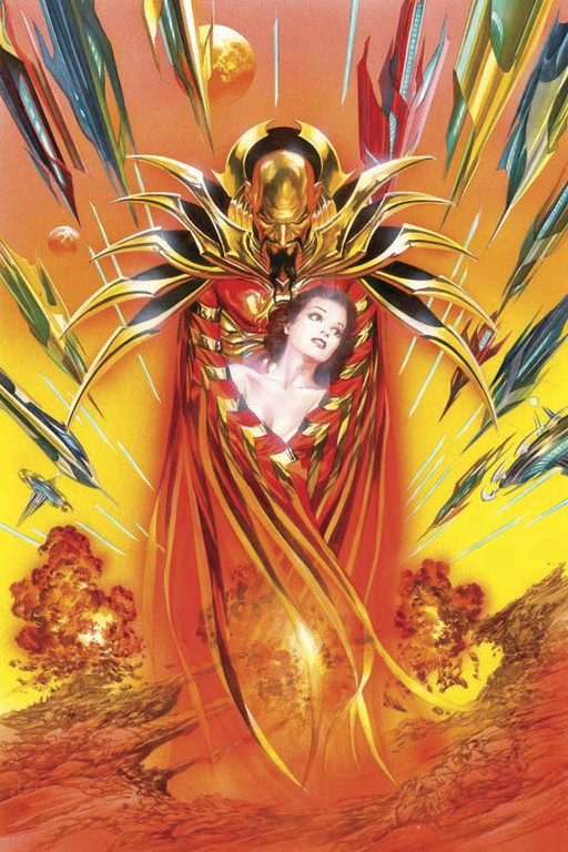 "Flash Gordon: Zeitgeist #4 ""Virgin"" incentive cover by Alex Ross."