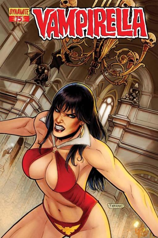 Vampirella #15 cover by Fabiano Neves