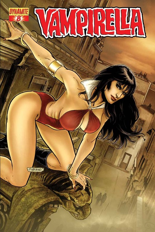Vampirella #8 cover by Fabiano Neves