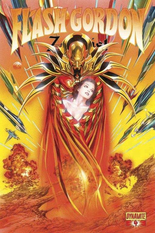 Flash Gordon: Zeitgeist #4 cover by Alex Ross.