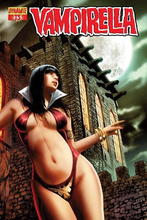Vampirella #13 cover by Wagner Reis