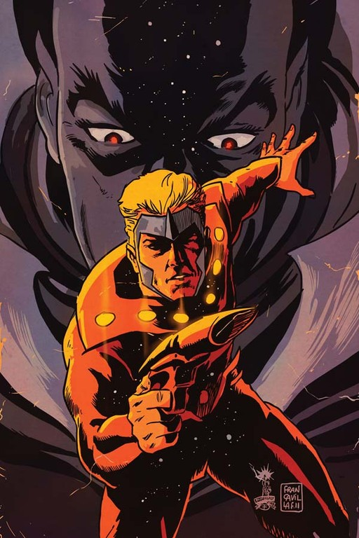 "Flash Gordon: Zeitgeist #2 ""Virgin"" incentive cover by Francesco Francavilla."