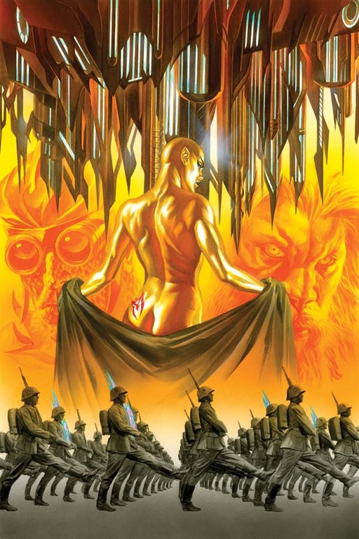 "Flash Gordon: Zeitgeist #2 ""Virgin"" incentive  cover by Alex Ross."