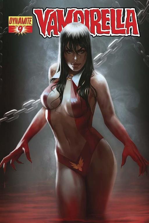 Vampirella #9 cover by Jelena Kevic-Djurdjevic