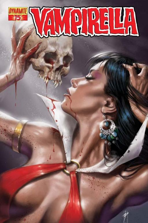Vampirella #15 cover by Lucio Parillo