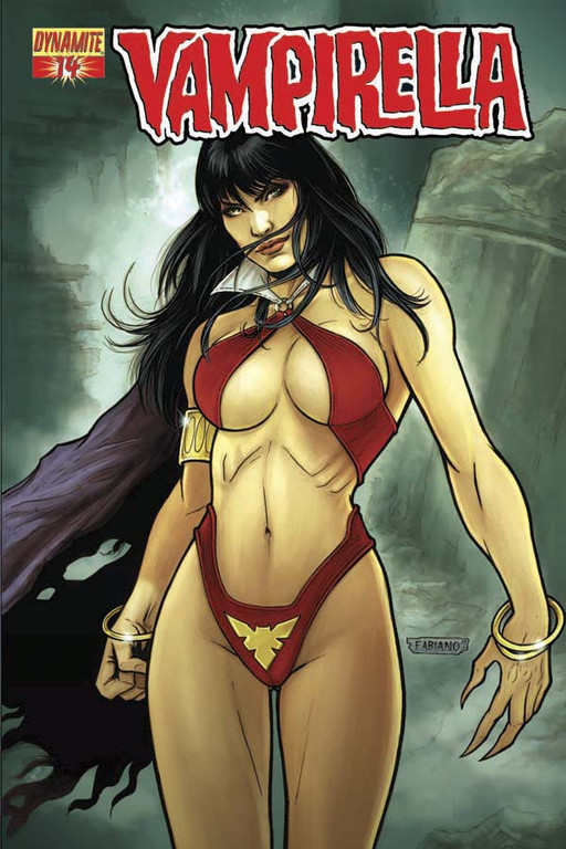 Vampirella #14 cover by Fabiano Neves