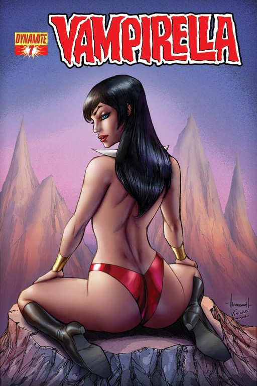 Vampirella #7 incentive cover by Alé Garza