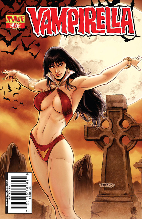 Vampirella #6 cover by Fabiano Neves