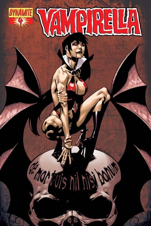 Vampirella #4 cover by Jason Pearson