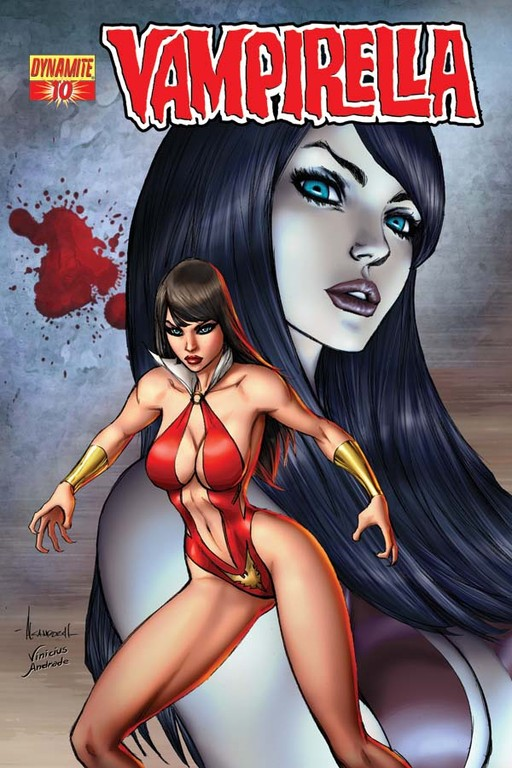 Vampirella #10 cover by Alé Garza
