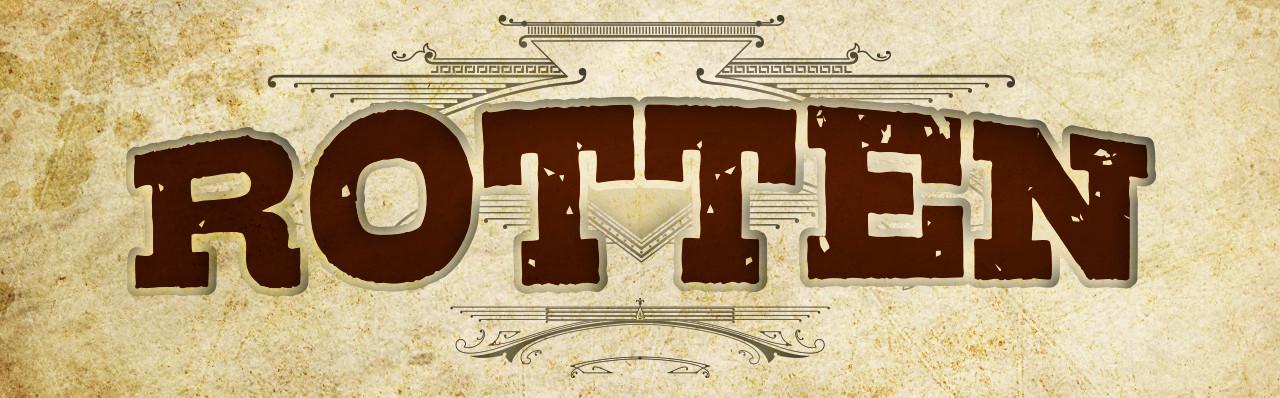 ROTTEN logo