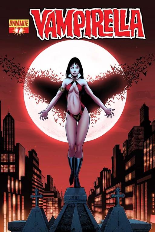 Vampirella #7 cover by Walter Geovani