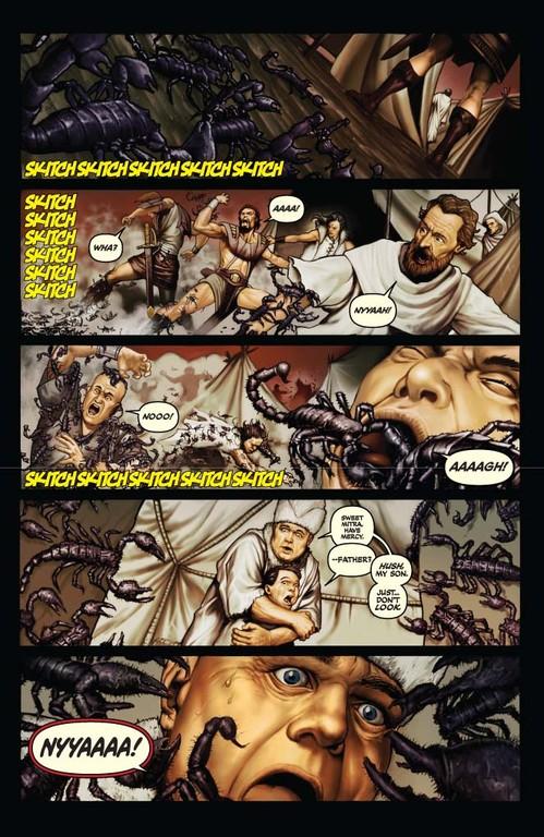 Red Sonja #60 - Page 4 (Script: Trautmann / Art: Berkenkotter)