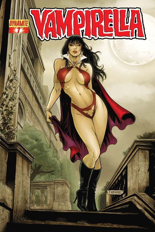 Vampirella #7 cover by Fabiano Neves