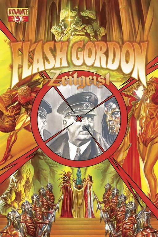 Flash Gordon: Zeitgeist #5 cover by Alex Ross.