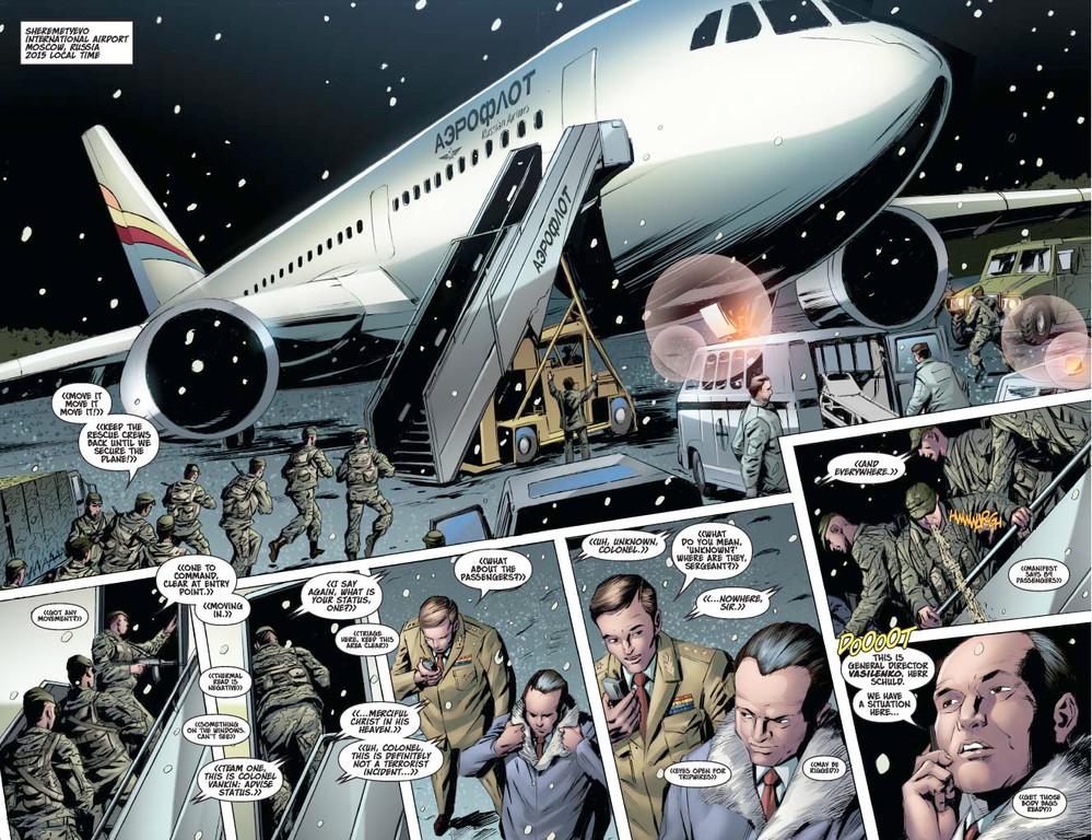 Vampirella #12 – Pages 2-3 (script: Trautmann / Art: Malaga)