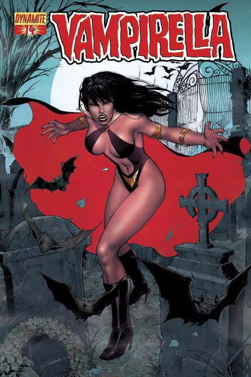Vampirella #14 cover by Ibraim Roberson