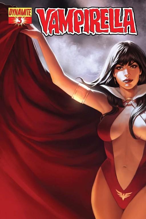 Vampirella #3 cover by Jelena Kevic-Djurdjevic
