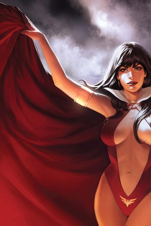 Vampirella #3 incentive cover by Jelena Kevic-Djurdjevic