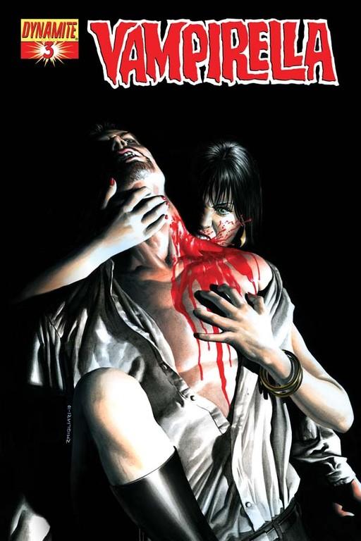 Vampirella #3 cover by Rodolfo Migliari