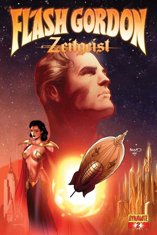 Flash Gordon: Zeitgeist #2 cover by Paul Renaud.