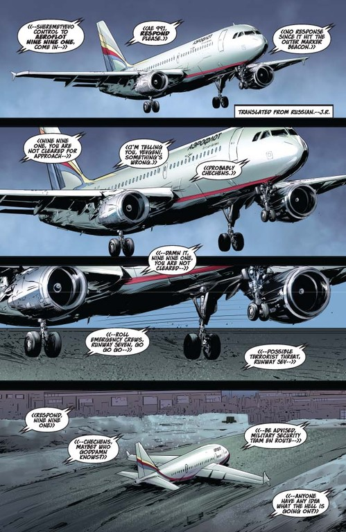 Vampirella #12 – Page 1 (script: Trautmann / Art: Malaga)