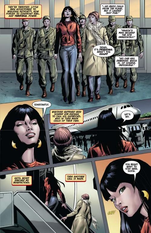 Vampirella #12 – Page 5 (script: Trautmann / Art: Malaga)