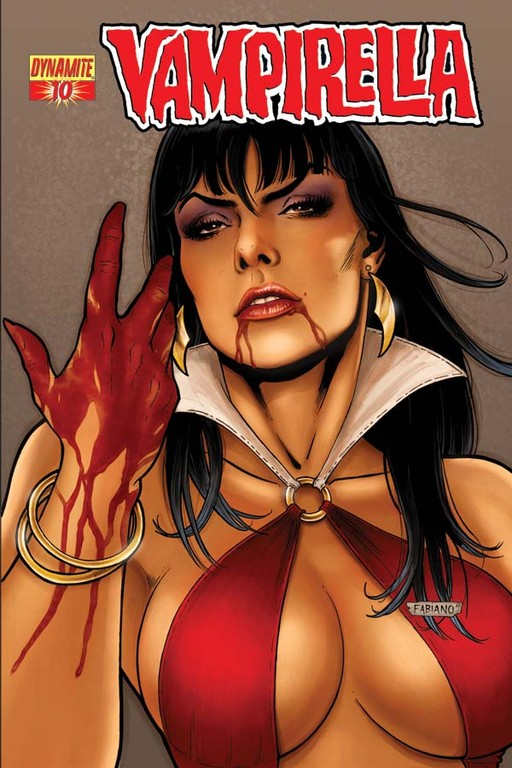 Vampirella #10 cover by Fabiano Neves