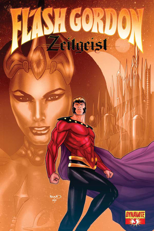 Flash Gordon: Zeitgeist #3 cover by Paul Renaud