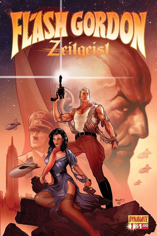 Flash Gordon: Zeitgeist #1 cover by Paul Renaud.