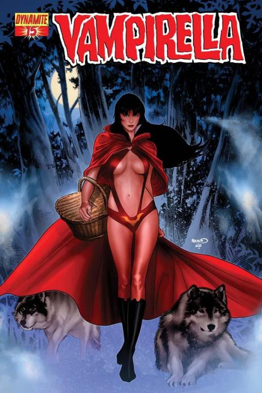 Vampirella #15 cover by Paul Renaud