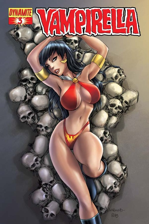 Vampirella #3 cover by Alé Garza