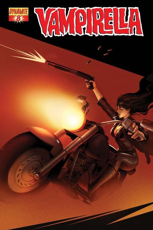 Vampirella #8 cover by Jelena Kevic-Djurdjevic
