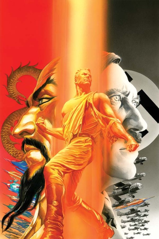 Flash Gordon: Zeitgeist #1 cover by Alex Ross.