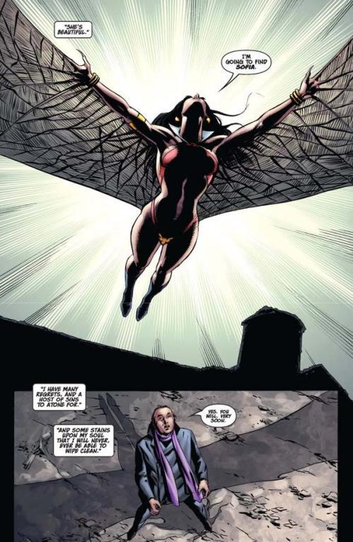 Vampirella #15 -- page 4 (script: Trautmann / art: Malaga)