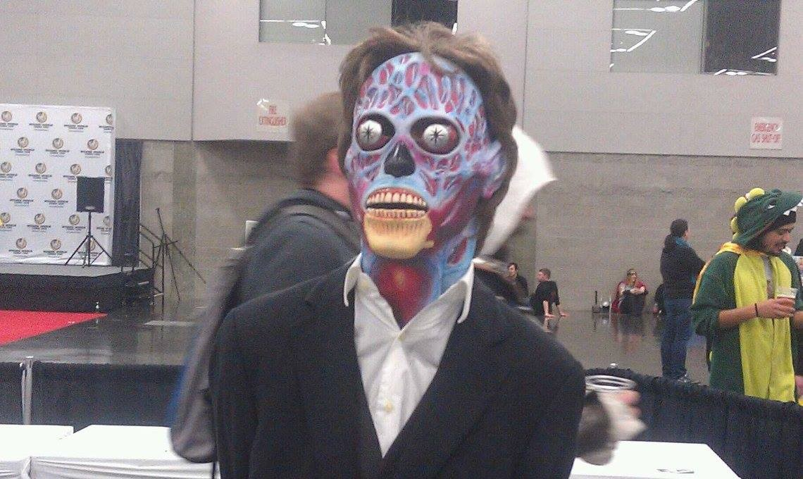 THEY LIVE cosplay, a convention first for me.