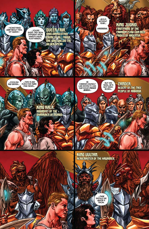 Flash Gordon: Zeitgeist #2 - page 4 (script: Trautmann / art: Indro)