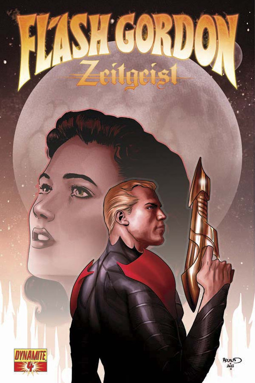 Flash Gordon: Zeitgeist #4 cover by Paul Renaud.
