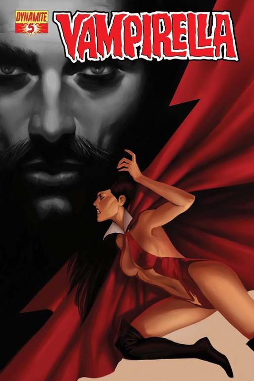Vampirella #5 cover by Jelena Kevic-Djurdjevic