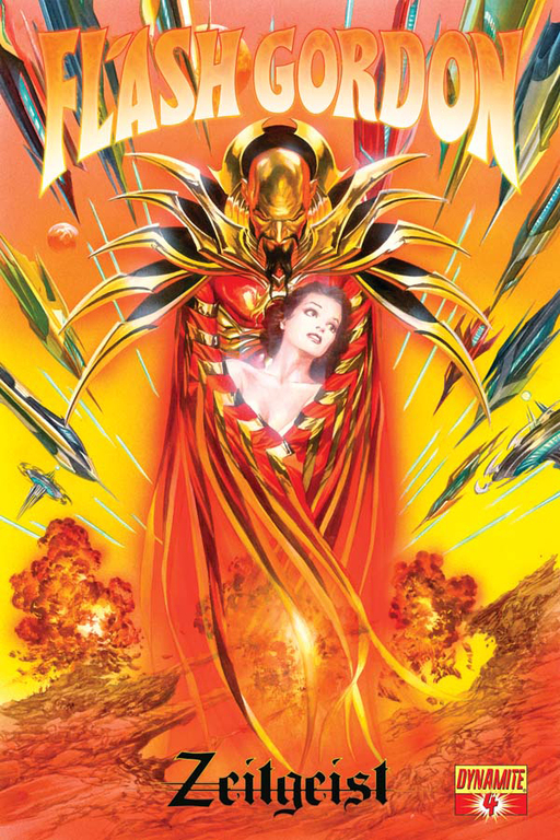 Flash Gordon: Zeitgeist #4 cover by Alex Ross